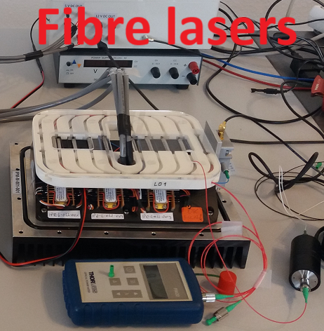 Fibre laser products products